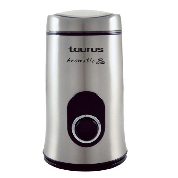 MOLINILLO CAFE TAURUS MOD.AROMATIC ACERO INOX.