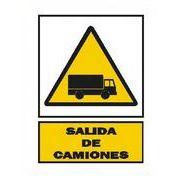 SEÑAL 210x297 SALIDA DE CAMIONES