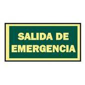 SEÑAL 297x105 SALIDA EMERGENCIA